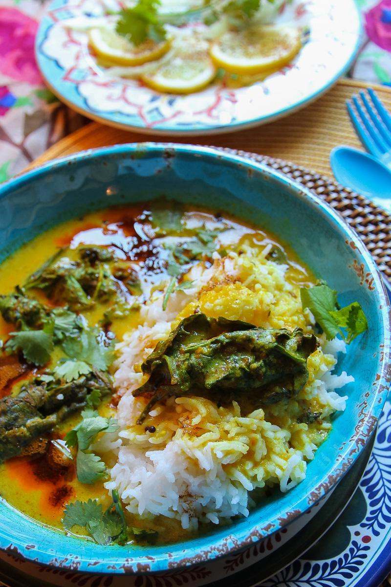 Kadhi Chawal recipe