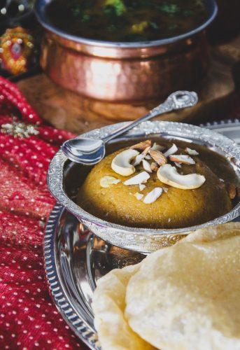 Sooji Halwa Ashtami Prasad
