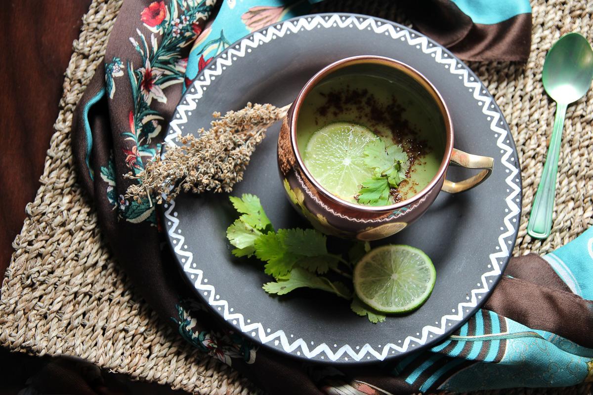 Vegan Buttermilk or Chhaas  recipe