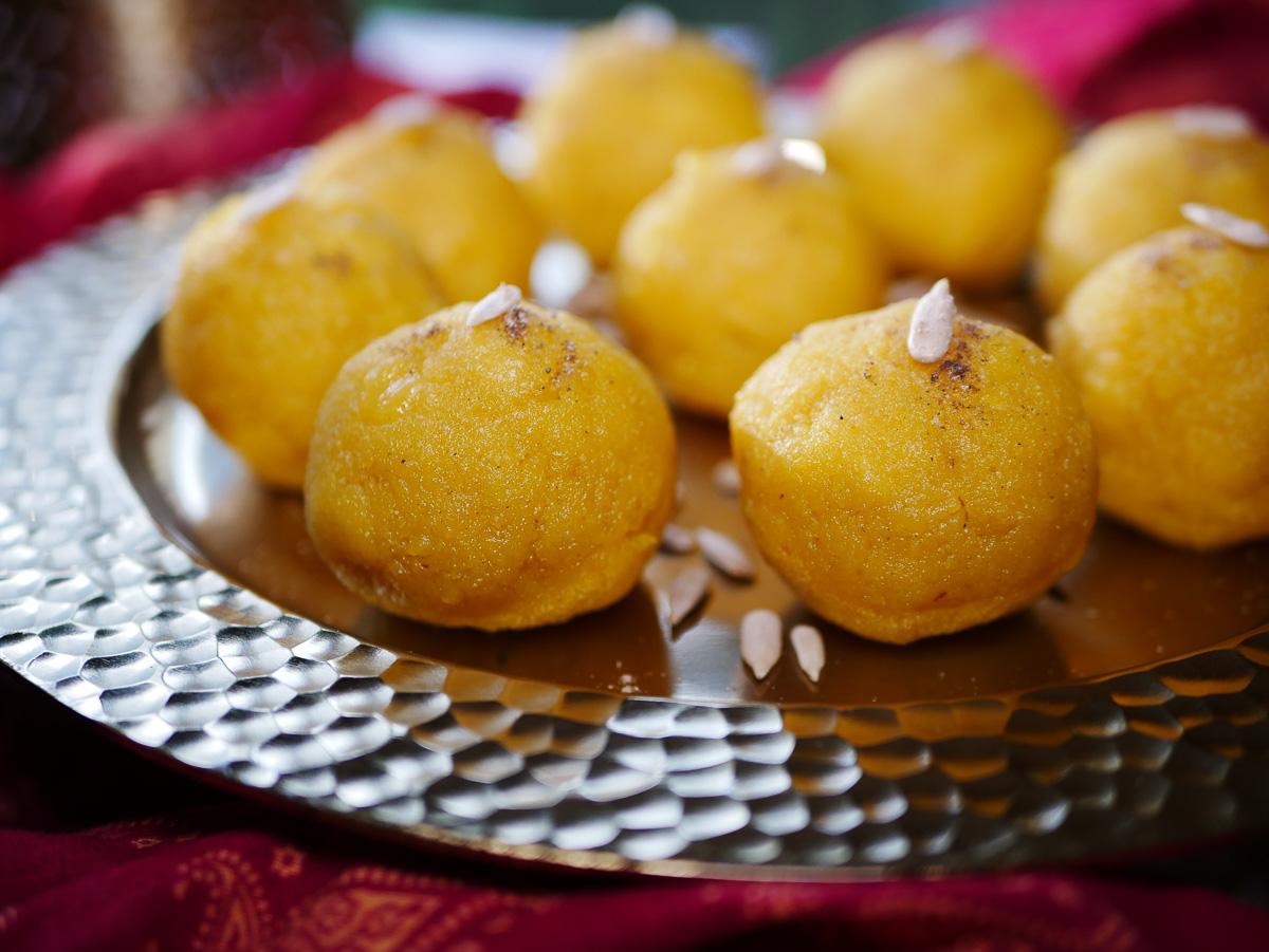 Mango Motichoor Laddoo recipe