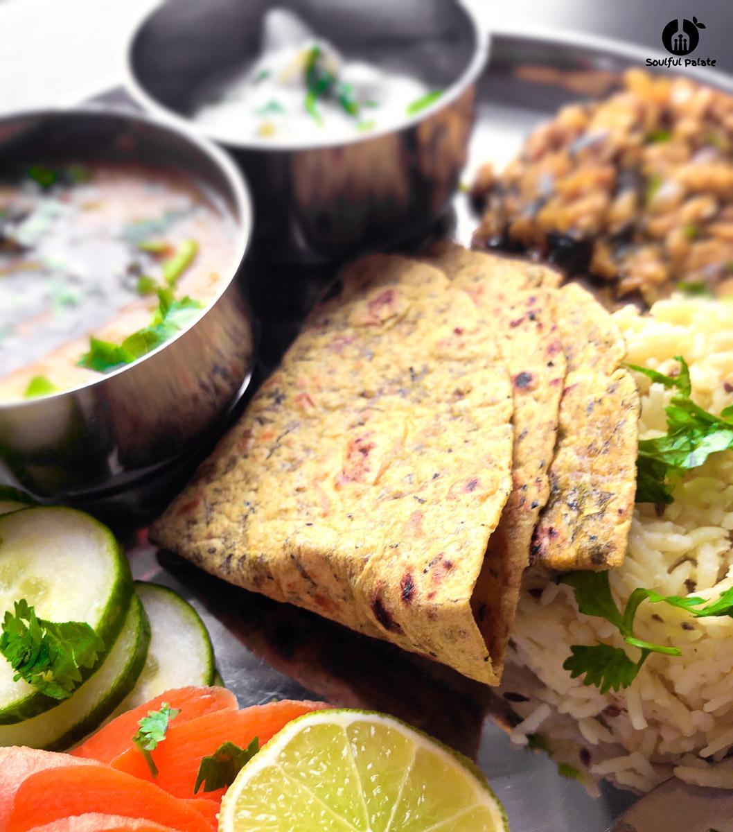 Nourishing Indian meal